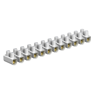 OBO BETTERMANN - Barette de connection à vis 78/CE blanc 10/16 mm²