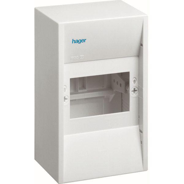 HAGER - Coffret cache-bornes - 4 M. - Mini Gamma
