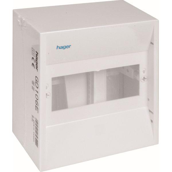 HAGER - Coffret cache-bornes - 6 M. - Mini Gamma