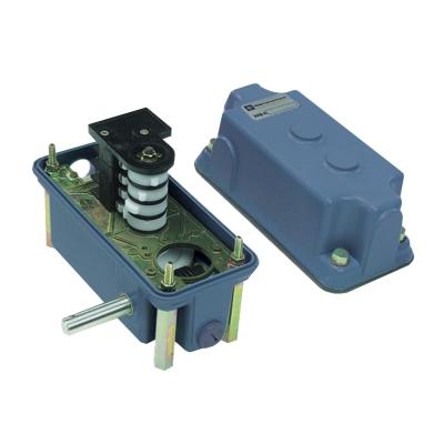 TELEMECANIQUE - interrupteur fin de course vis standard -arbre moteur simple -6 C/O -60:1 -droit