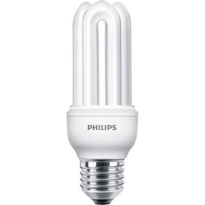 PHILIPS - GENIE 14W E27 230V warm wit 2700K 810lm CRI80 spaarlamp stick 10000u
