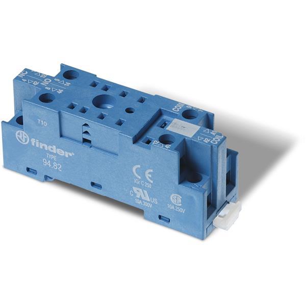 FINDER - Schroefaansluitvoet 23mm voor DIN-rail 35mm voor relais 55.32