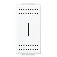 BTICINO - Porte-fusible Light pour fusibles 5x20 et 6,3x32 max. - 250V - 10A - 1 module