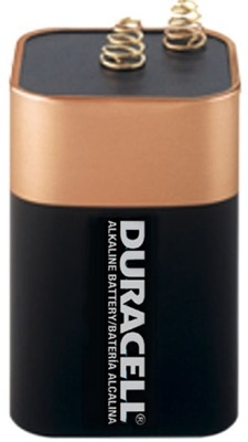 DURACELL - Pile bloc Alkaline Copper & Black - 6V 13000mAh - 4LR25 / MN908 - 1 pièce