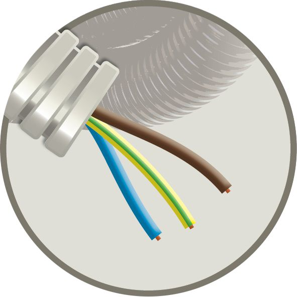 CABLEBEL - Elflex tube précâblé 16mm + installation VOB 3G2,5mm²