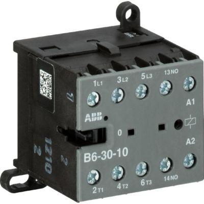 ABB - Mini contactor B6 serie 3P, 1NO, 220-240V