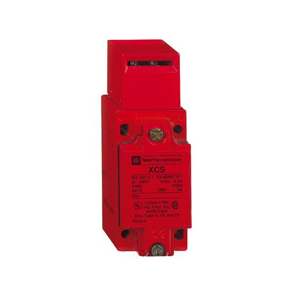 TELEMECANIQUE - Interrupteur à clé métal - entrée câble M20x1,5 - avec LED 24/48V AC/DC