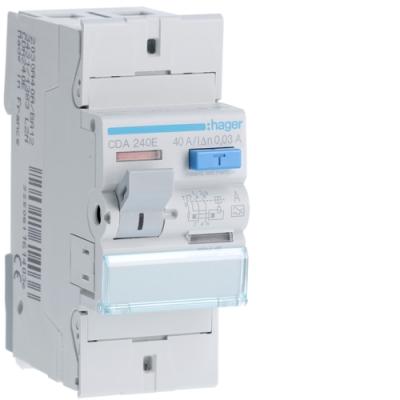 HAGER - Interrupteur différentiel 2P 40A 30mA type A