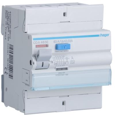 HAGER - Interrupteur différentiel 4P 63A 30mA type A