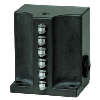 EUCHNER - Interrupteur de position SN 12mm 2x poussoir à galet 1NO+1NC M16