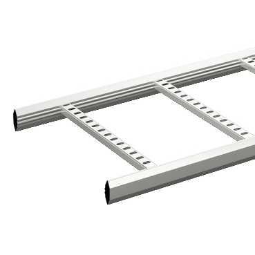 Wibe - Echelle à câbles KHZP Tôle d'acier galvanisée à chaud Long: 6000 mm, Larg 400 m
