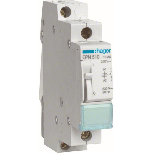 HAGER - Télérupteur 16A 230V 1NO