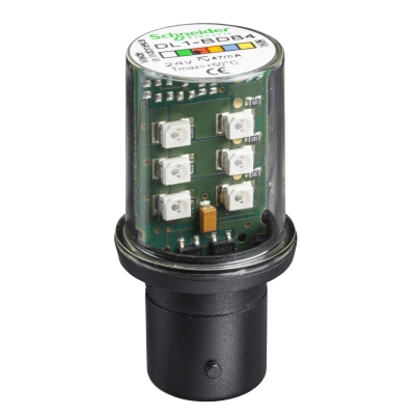 TELEMECANIQUE - signalisatielamp LED - rood - BA 15d - 24 V
