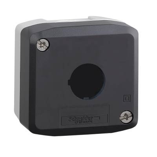 TELEMECANIQUE - boîte à boutons vide - XAL-D - plastique - 1 perçage
