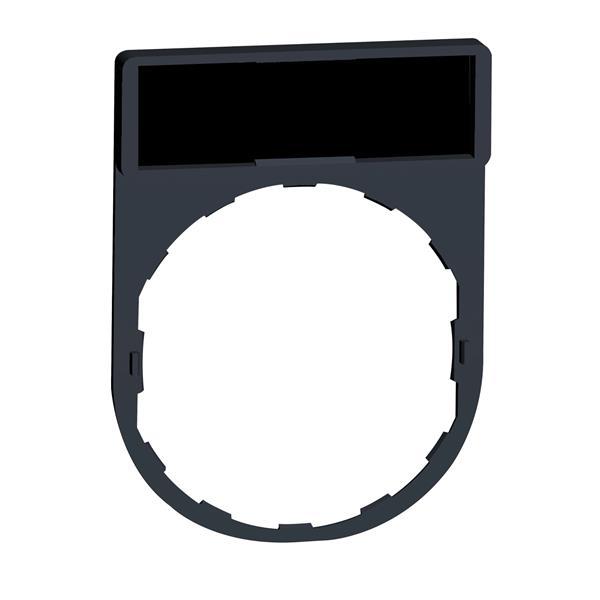 TELEMECANIQUE - porte étiquette 30 x 40 mm standard - Ø 22 - avec étiquette à graver