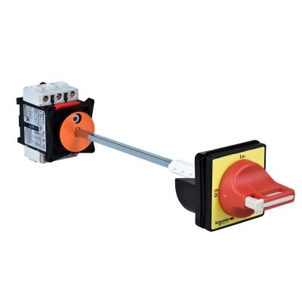 TELEMECANIQUE - Interrupteur-sectionneur VCCF - 3P - 690V 63A - poignée rouge cadenassable