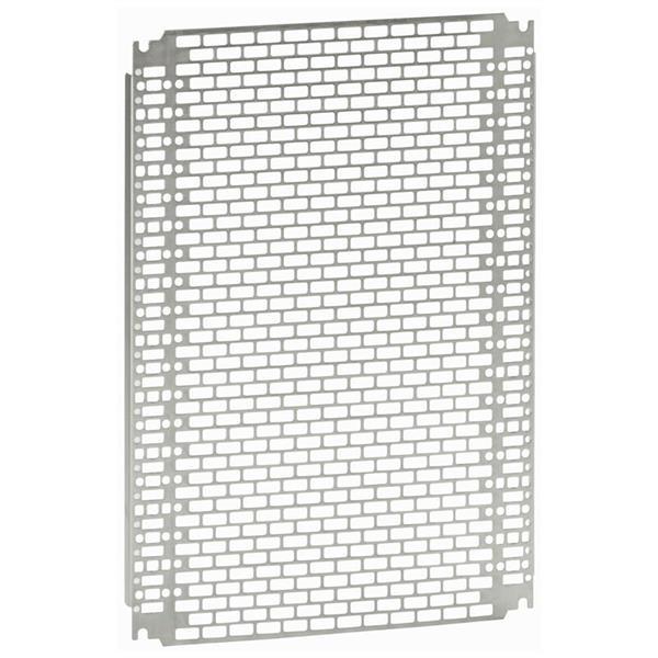 LEGRAND - Plaque Lina 25 - 256 x 156 mm coffret (h x l) 300 x 220 mm