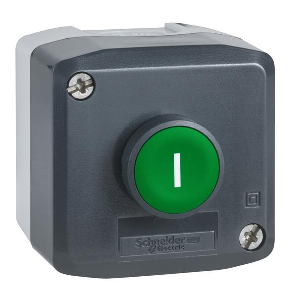 TELEMECANIQUE - drukknopkast XAL-D - functie Start of Stop - 1 NO