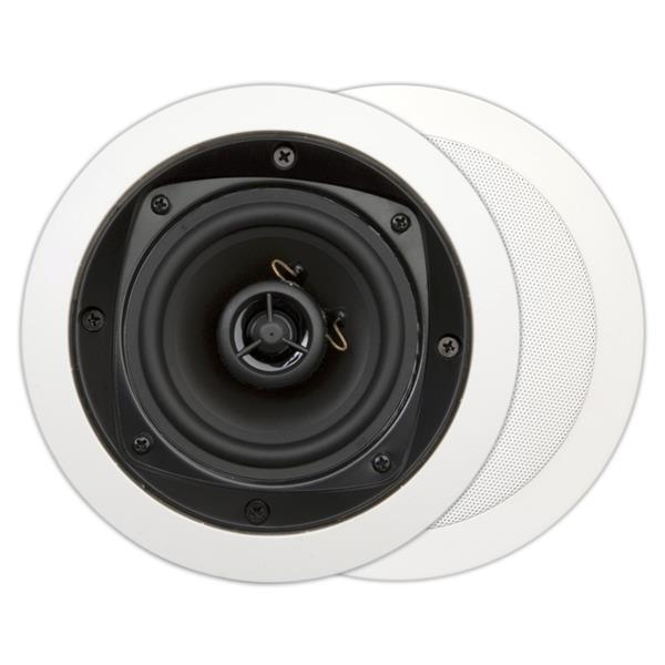 House Of Music - MDC501, basic, haut-parleur encastrable 2 voies, ronde, 70W, blanc (2pc)