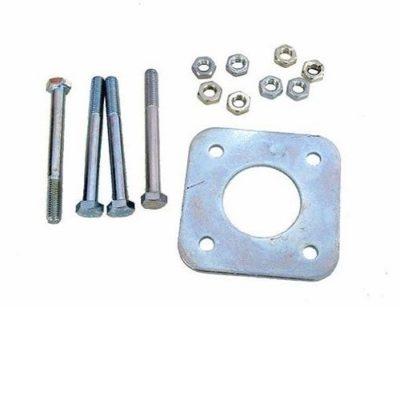 Prim345ownin Roulettes pour porte de douche Diam/ètre 19 mm