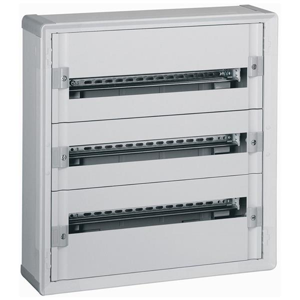LEGRAND - Coffret XL³ 160 - 3 rangées Complet - isolant - 72 mod.