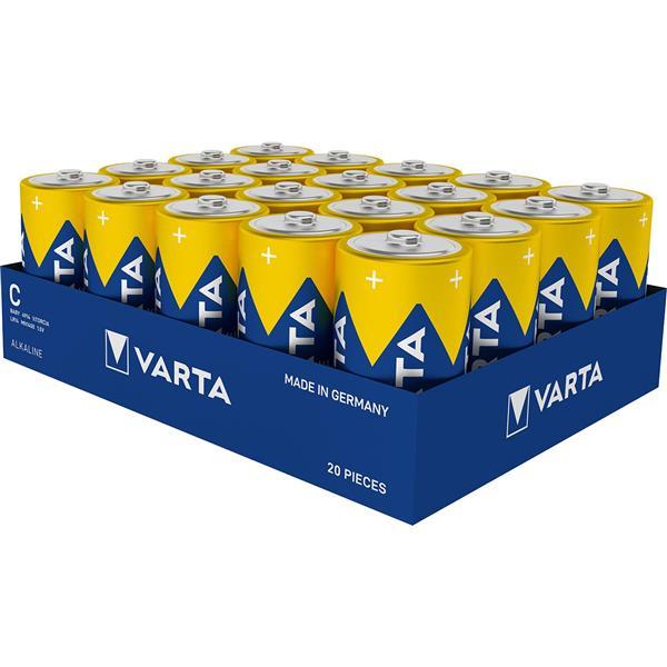 VARTA - HIGH ENERGY/ alkaline/ LR14/ Baby/ C/ 1,5 volt / tray/vrac 1