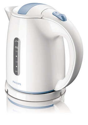 PHILIPS - Waterkoker Daily Collection - 1,5l - 2400W - wit/blauw