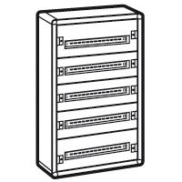 LEGRAND - Coffret XL³ 160 - 5 rangées Complet - métal - 120 modules