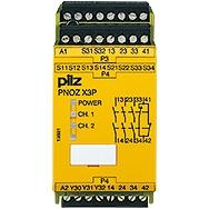 Pilz - Surveillance d'arrêts d'urgence PNOZ X3P C 24VDC 24VAC 3n/o 1n/c 1so