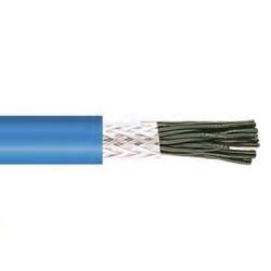 SPECIALE KABEL - LIYCY2X 1mm² IEC 60332-3 zwart genummerd afgeschermd blauw