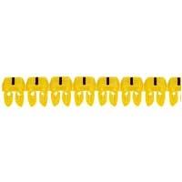 LEGRAND - Repère CAB 3 - signe - noir/jaune - 1,5 à 2,5 mm²