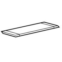 LEGRAND - Plaque passe-câbles découpable Pour coffret XL³ 160 métal