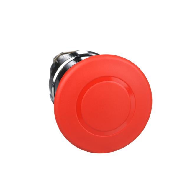 TELEMECANIQUE - Kop voor noodstop Ø40 - drukken-trekken - Ø22 - rood - zonder markering
