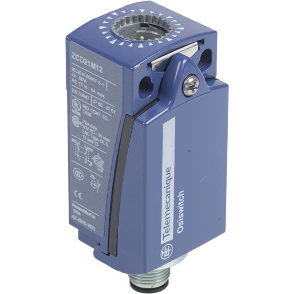 TELEMECANIQUE - corps d'interrupteur de position - ZCD - 1 O + 1 F - connecteur M12