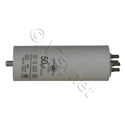 VEDELEC - Condensateur de demarage pour moteur sans fil   50uf 400V