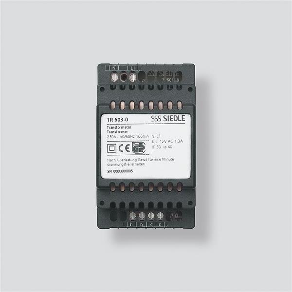 SIEDLE - Transformateur 230Vac-12Vac -1,3A