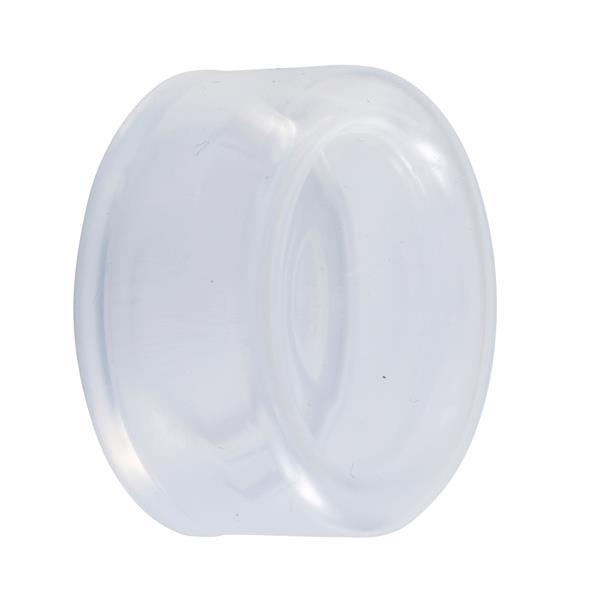 TELEMECANIQUE - Soepel beschermkapje voor drukknop Ø22mm rond verhoogd doorschijnend set van 10
