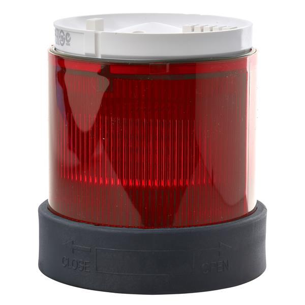 TELEMECANIQUE - Élément feu fixe rouge XVB - douille BA 15d - 250V max