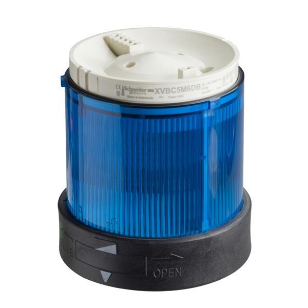 TELEMECANIQUE - Élément feu fixe bleu XVB - douille BA 15d - 250V max