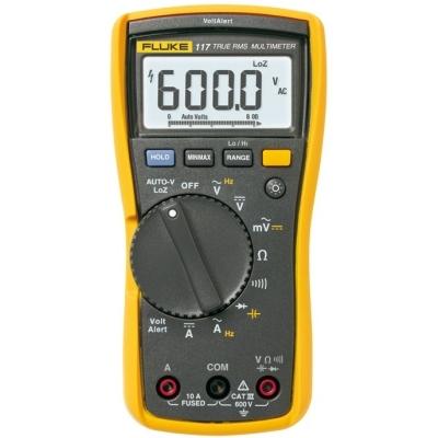 Fluke - Fluke 117 Multimètre RMS numérique max. 600V AC/DC - 10A AC/DC