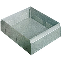 BTICINO - Boîte de sol Interlink galvanisée métal (pour chape) pour boîtes 150561/150562