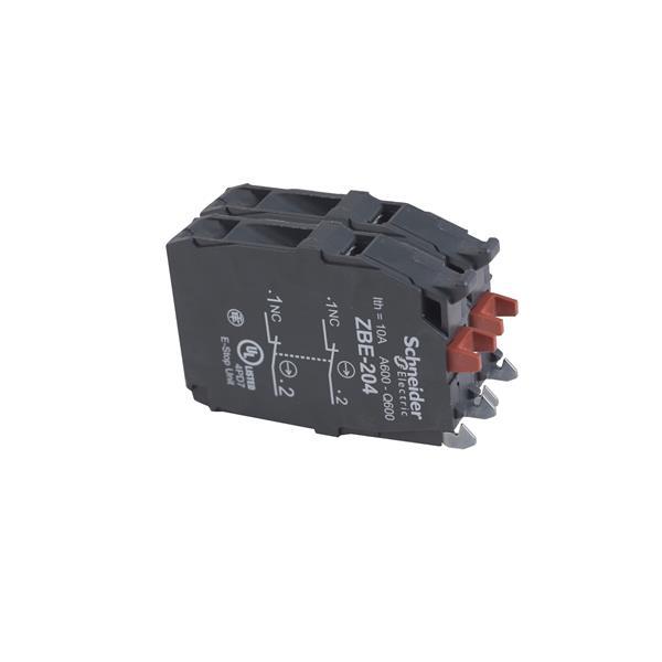 TELEMECANIQUE - Contactelement voor drukknop - ZBE Ø22 - 2NC