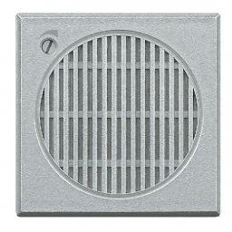 BTICINO - Sonnerie Axolute - 12 V - 3 tonalités avec réglage frontal - gris clair