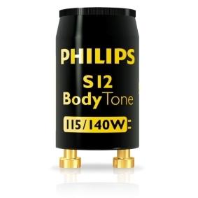 PHILIPS - S12 115-140W starter zonnebanklamp zwart