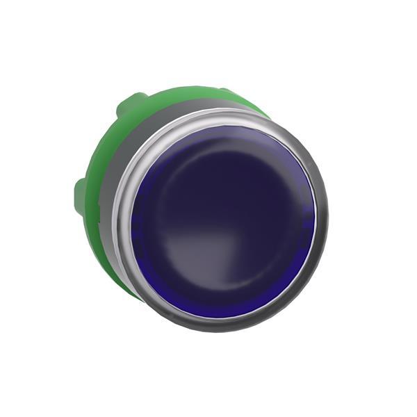 TELEMECANIQUE - kop voor verlichte drukknop - Ø22 - blauw - zonder markering
