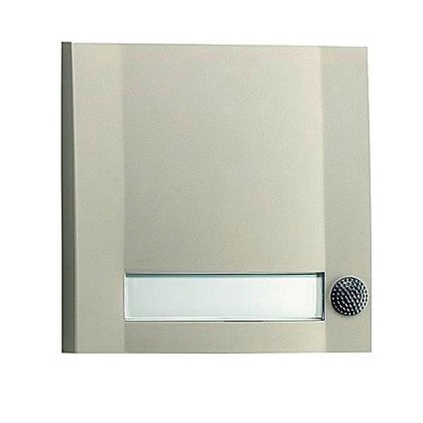 VANDER ELST - DOMOLUX SIM/SW 2151 1 bouton d'appel Argent mat/Noir