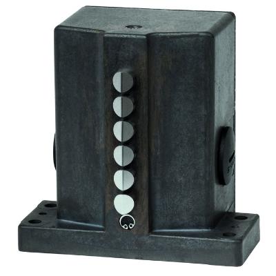 EUCHNER - Boitier multipiste GSBF 16mm 3x poussoir à galet 1NO+1NC M20