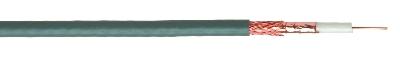 CABLES SPECIAUX - Coax 75 Ohm Telenet PVC gris indoor résistant UV 7mm <30m touret