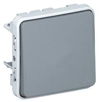 LEGRAND - Plexo wisselschakelaar 10A 250V - samenstelbaar - grijs