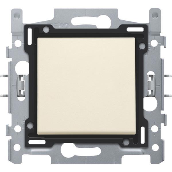 NIKO - Interrupteur unipolaire 10A 250V AC, crème
